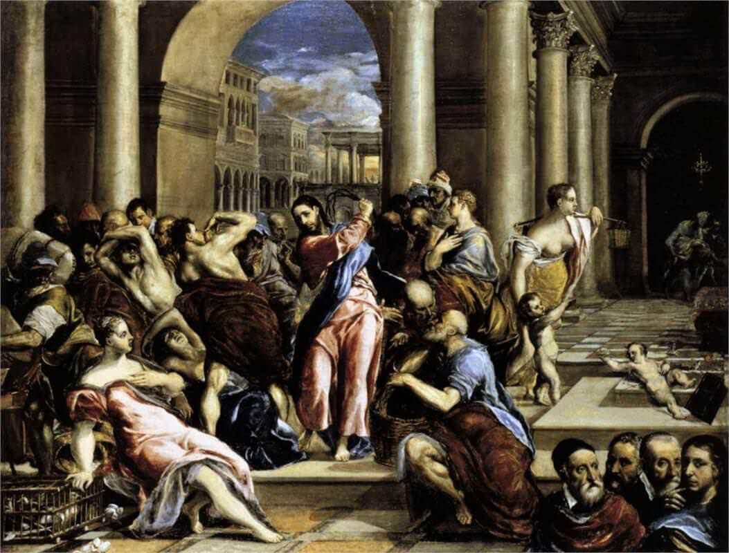 christ carrying the cross 1594 1604 by el greco