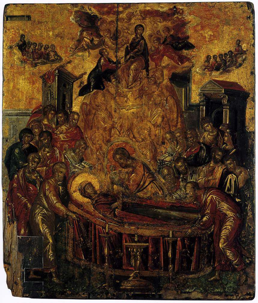 Dormition of the Virgin, 1657 by El Greco