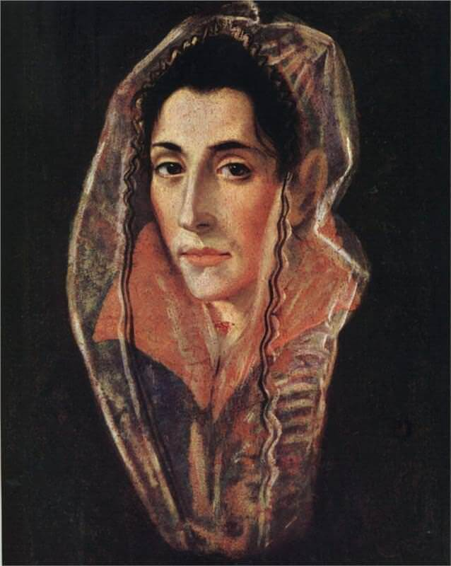 A Female Portrait, 1978-81 by El Greco