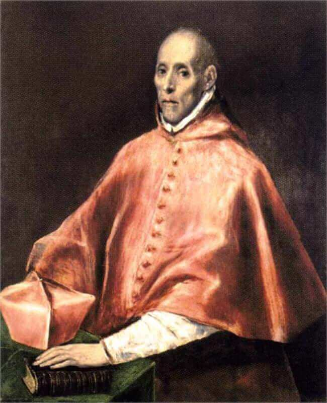 Portrait of cardinal tavera - by El Greco