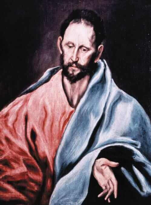 St james the less - by El Greco
