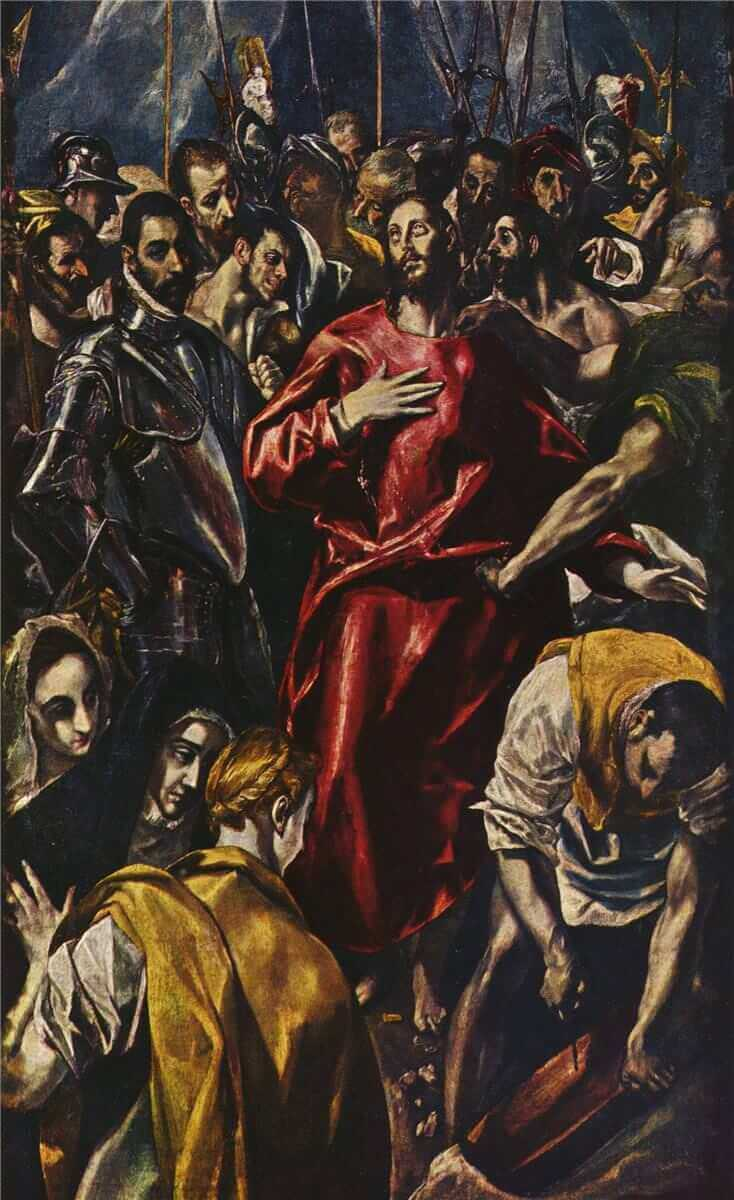 The Disrobing of Christ, 1579 by El Greco